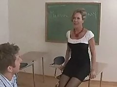 Professor brandi love passes the time in detention