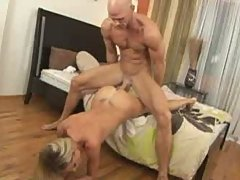 Milf fucks her daughters boyfriend big hard cock
