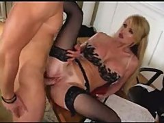 Busty blonde taylor wane office scene