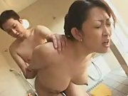Asian milf gives a really tight fuck