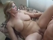 Chubby mature mother fucked by young hard dick (..
